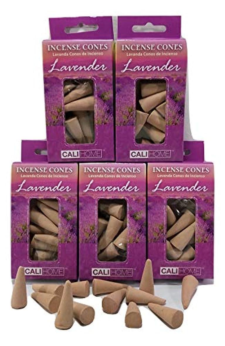 にやにやサークル感じるBackwoods Lighting LLC ラベンダー Cali Home お香 5パック 75個入り。内部の自己に合わせることができます。