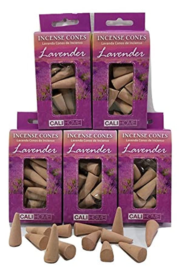 実行気がついて古くなったBackwoods Lighting LLC ラベンダー Cali Home お香 5パック 75個入り。内部の自己に合わせることができます。