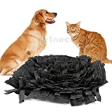 Petneces Snuffle Mat Encourages Natural Foraging Skills Dog Feeding Mats - Dog Smell Training Mat Nose Work Blanket(Green&Brown)
