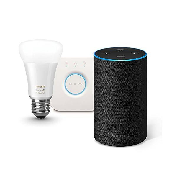 Amazon Echo、チャコール (ファブリッ...の商品画像
