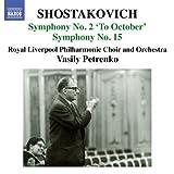 Symphonies Nos. 2 & 15 by Shostakovich (2012-08-03)