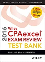 Wiley CPAexcel Exam Review 2016 Test Bank: Auditing and Attestation