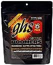 ghs エレキギター弦 Guitar BOOMERS/ギター ブーマーズ エクストラライト 6セット(5セット おまけ1セット)パック 09-42 GBXL-5PACK