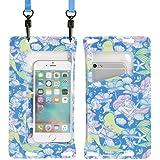 ディズニー DIVAID Lite iPhone 防水ケース IPX8 スマホ iPhone6s iPhone6 iPhone5s / アリエル