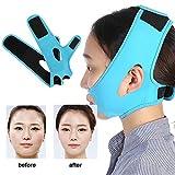 顔の輪郭を改善するためのフェイスマスクのスリム化、Vフェイス美容包帯、通気性/伸縮性/非変形性