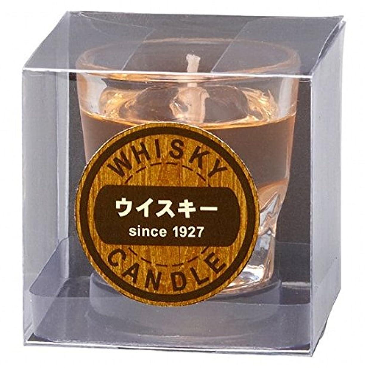 ランク操る喉が渇いたカメヤマキャンドル(kameyama candle) ウイスキーロックキャンドル