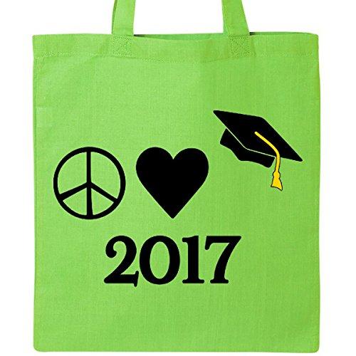 Inktastic Peace Love Graduate ...