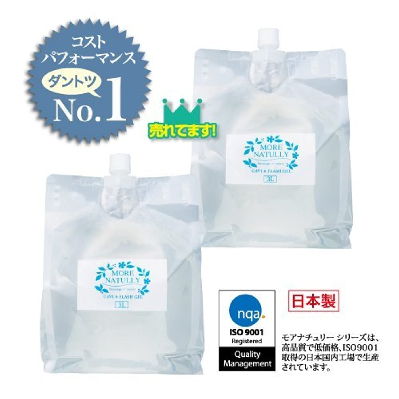 感情以降暴徒モアナチュリー キャビ&フラッシュジェル 【ソフト】3kg×2袋