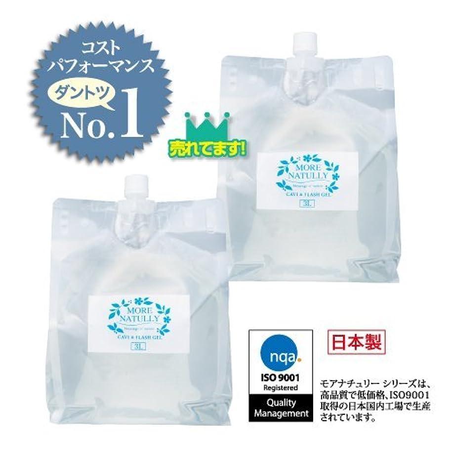 貯水池悩み冷淡なモアナチュリー キャビ&フラッシュジェル 【ソフト】3kg×2袋