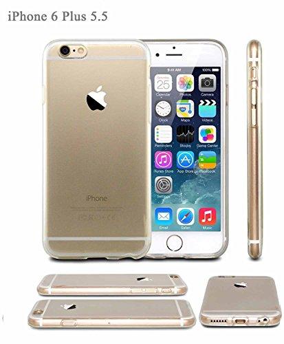 iPhone 6ケース、Finco ( TM )クリスタルクリアApple iPhone 6( 5.5インチ)ケースクリア傷付きクリアスリムフィットカバー保護Iphone 6ケース( for Apple iPhone 6Verizon、at  t Sprint、T - Mobile、ロック解除) (クリア)