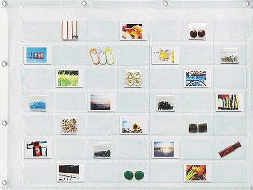 ウォールポケット カード 49ポケット W-170