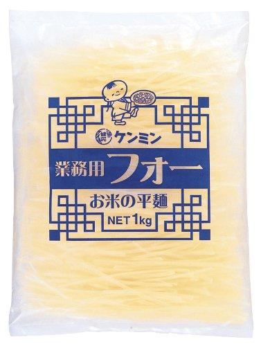 ケンミン 業務用フォーお米の平麺 1Kg
