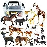 Tagitary 動物のフィギュアセット 子供用おもちゃ 定番玩具 子供飛びつくおもちゃ 収納ボックス付き 豪華セット コレクション 二種類 キッズおもちゃ プレゼント
