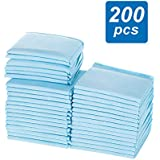 OZSTOCK 60x60cm Pet Toilet Training Pads Puppy Dog Cat Indoor Super Absorben (200 Pads)