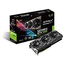 ASUS R.O.G. STRIXシリーズ NVIDIA GeForce GTX1080搭載ビデオカード オーバークロック メモリ8GB ROG-STRIX-GTX1080-O8G-11GBPS