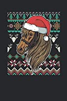 Ugly Christmas - Horse: Dotted Bullet Notebook – Christmas Gift for Kids, Women, Men Girls And Boys