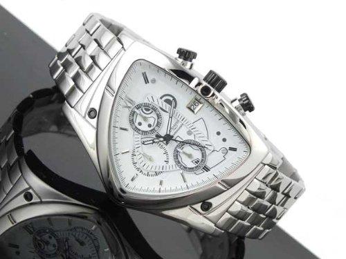 コグ COGU アシンメトリー クロノグラフ 腕時計 C43M-WH ホワイト [並行輸入品]