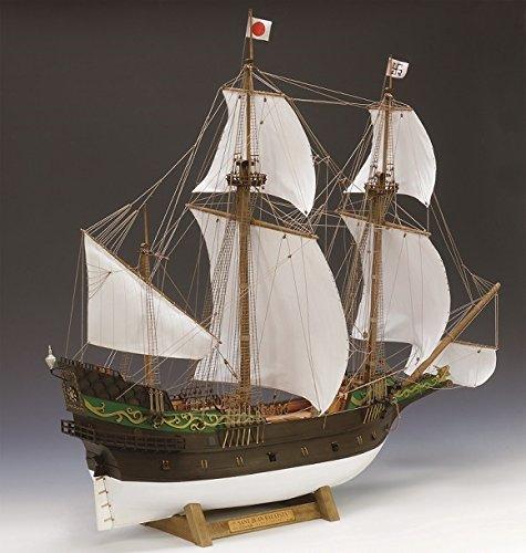 ウッディジョー 1/80 サン・ファン・バウティスタ 木製帆船模型 組立キット