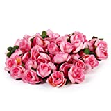 Amazon.co.jpXepres 人工のローズ 、美しい頭花、ウェディング やホーム やパーティーで装飾、ブライダルの髪を装飾