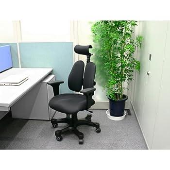 DUOREST(デュオレスト) DRシリーズ オフィスチェア ブラック DR-7501SP(ABK)