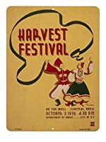 収穫祭 ハーベストフェスティバル 当店Sサイズ アメリカンブリキ看板
