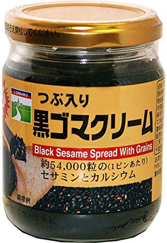 三育フーズ つぶ入り黒ゴマクリーム 190g×3個
