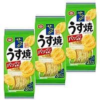 亀田製菓 サラダうす焼 85g×3袋