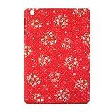 (iPad mini iPad mini Retina専用ケース/花柄)スマホの洋服屋オリジナルケース  ローテローゼカルテットRD(タブレット ケース)