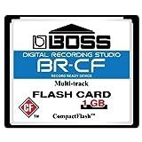 Boss Roland BR-CF 1GB コンパクトフラッシュ CF メモリーカード 対応機種: BR-600 BR-864 BR-900CD MC-808