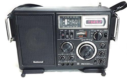 RF-2800 PROCEED プロシード FM/MW/SW1~3ラジオ BCLラジオ (FM/中波/短波)National ナショナル (現Panasonic パナソニック) 日本国内版モデル