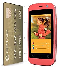 "POSH Micro X S240b - 2.4"", 4G, Android 4.4 Kit Kat, Dual-core, 4GB , 2MP Camera, Ultra Compact, Micro-size UNLOCKED Smartphone (Pink) by Posh Mobile [並行輸入品]"