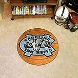 Fanmats UNC Tar Heels basketball-shapedマット