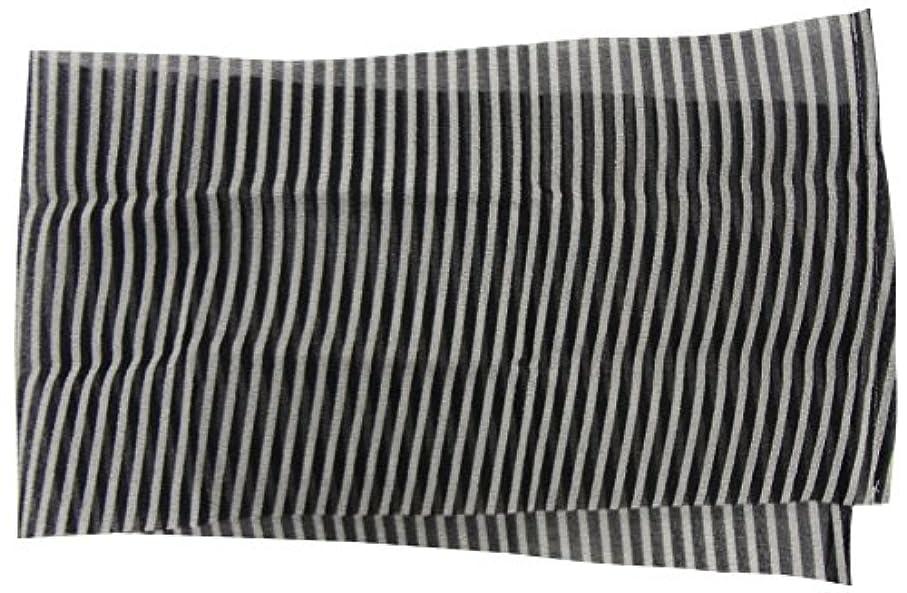 メロディーストッキング聞きます小久保 『背中が楽に洗えるロングタイプ』 ロングナイロンタオルかため 28×110cm 2655
