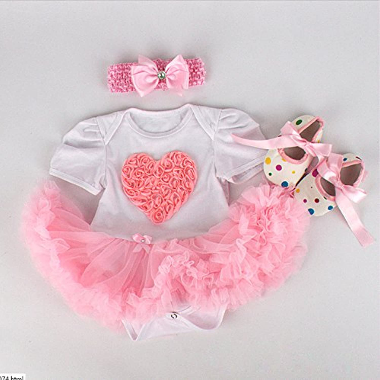 NPK 1set Rebornベビー人形チュチュドレスフィットfor 20 – 22インチハンドメイドRebornベビー人形Girls Suit幼児服の