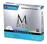 アイ・オー・データ機器 長期保存可能なデータ用ブルーレイ「M-DISC」1回記録用 25GB 1-4倍速 5mmケース5P VBR130YMDP5V1