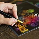[ ラゴ デザイン ] スクラッチ ポストカード 花火 Scratch Postcard Fireworks