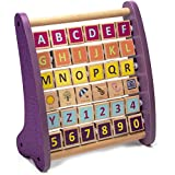 Brybelly TCDG-051 Alph-Abacus Wooden Learning Toy