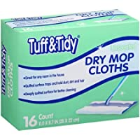 Tuff & Tidy Unscented Dry Mop Cloths, 16 count [並行輸入品]