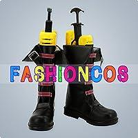 ★サイズ選択可★女性24.5CM UA0547 リーグ・オブ・レジェンズ League of Legends Jinx コスプレ靴 ブーツ