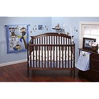 Little Bedding by NoJo 3 Little Monkeys 10 Piece Crib Bedding Set, Boy by NoJo [並行輸入品]