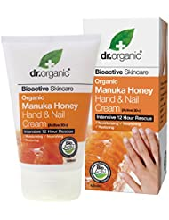 Dr.organic Organic Manuka Honey Hand And Nail Cream 125ml [並行輸入品]
