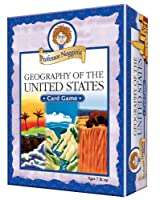 Professor Noggin's Geography of the United States - A Educational Trivia Based Card Game For Kids [並行輸入品]