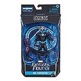 Hasbro マーベル レジェンドシリーズ ファンタスティック・フォー 6インチ コレクティブル アクションフィギュア Mr. ファンタスティック・トイ プレミアムデザイン & アクセサリー2個 組み立てパーツ1個