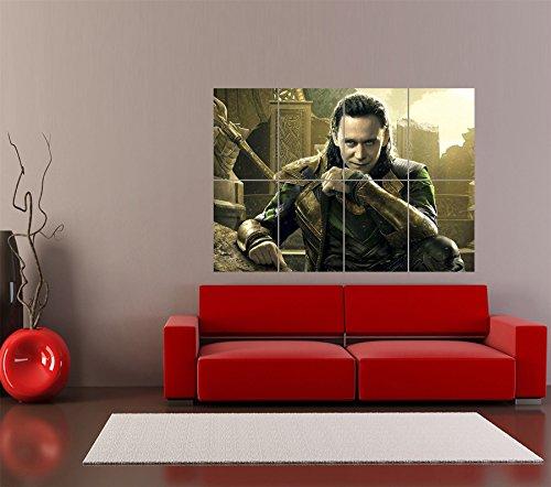 【映画】トム・ヒドルストン マイティー・ソー ロキ アートプリントポスター  TOM HIDDLESTON THOR LOKI OZ2917