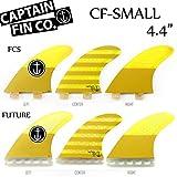 """CAPTAIN FIN  キャプテンフィン CF-SMALL 4.4"""" ショートボード用 トライフィン スモール"""