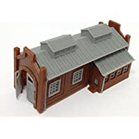 Outland Models Train Railway Locomotive Shed / Engine House (1-Stall) Z Scale