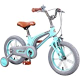 """Kids Bike Girls for 3-8 Years Old, 14"""" 16"""" Kids Bicycle with Training Wheels and Adjustable seat, Lightweight Children Bike"""