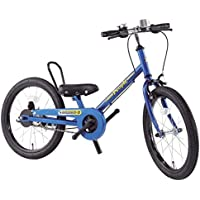 People(ピープル) ラクショーライダー 18インチ 補助輪パスして自転車イチバン乗り!