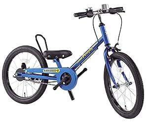 People(ピープル) ラクショーライダー 18インチ ブルースター 補助輪パスして自転車イチバン乗り! YGA285