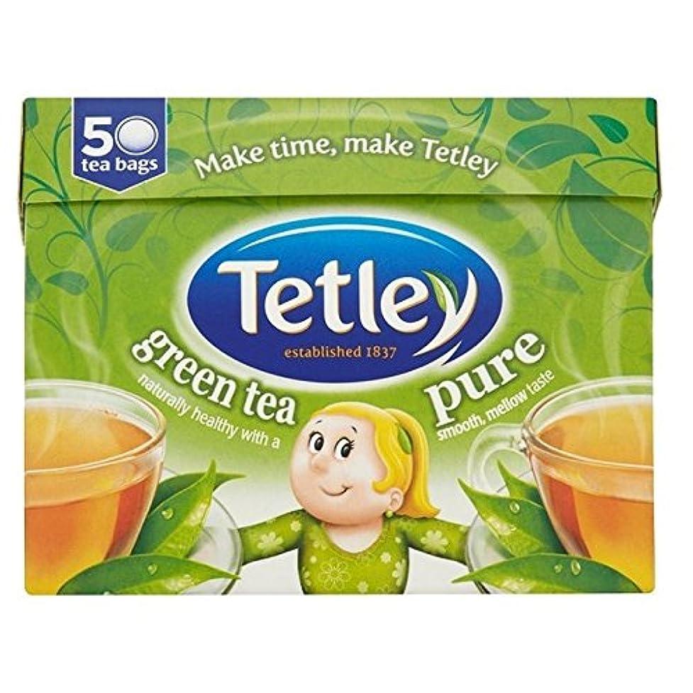 飼い慣らす残高ダウンテトリー純粋な緑茶のティーバッグ1パック50 (x 2) - Tetley Pure Green Tea Bags 50 per pack (Pack of 2) [並行輸入品]